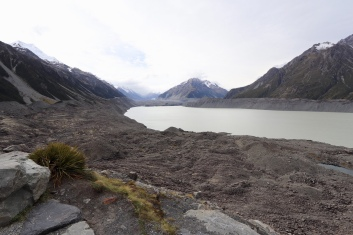 Tasman Lake and Glacier