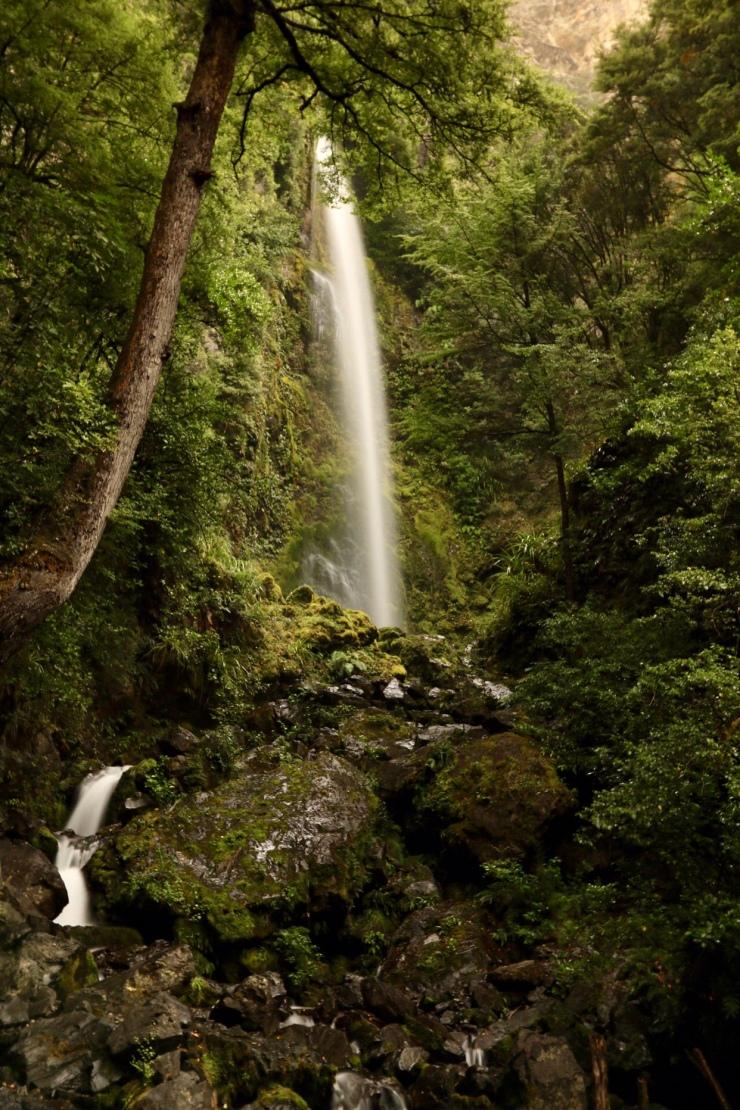 Whiskey Falls, Nelson Lakes Nationalpark