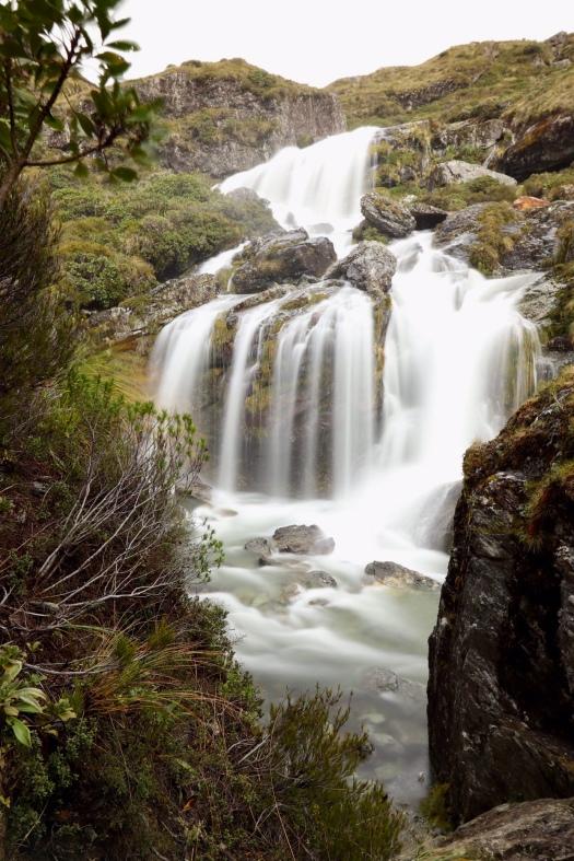 Routeburn Falls cascade