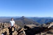 Cradle Mountain mit Blick zum Barn Bluff