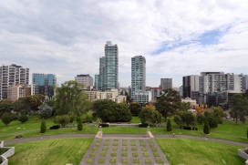View from Shrine of Remembrance