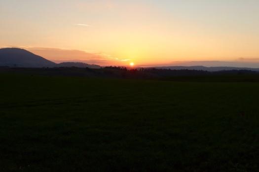 Sonnenuntergang nahe Scottsdale